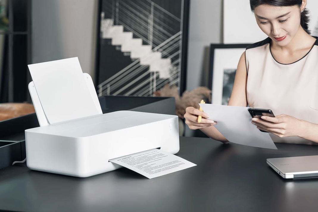 Xiaomi Mijia Inkjet Printer – полноценный принтер с самыми дешевыми в мире картриджами