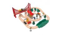 Детская железная дорога Xiaomi Mitu Track Building Block Electric Train Set